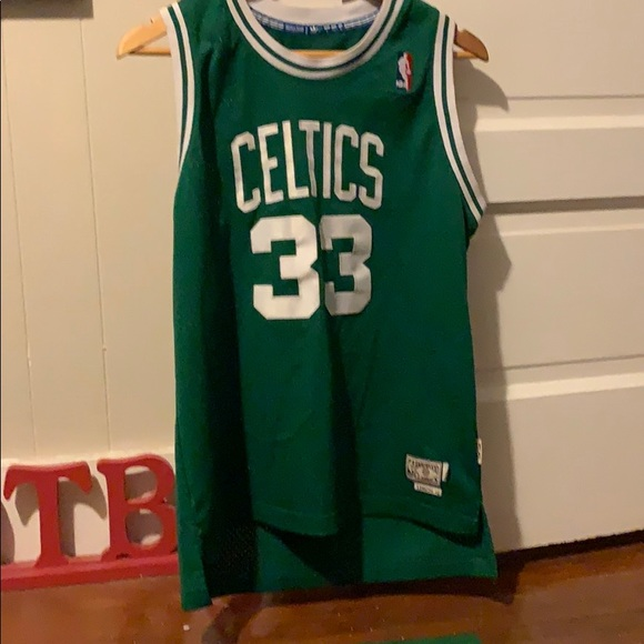 info for f558f ee2ad Larry bird jersey